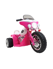 Rigo Kids Ride On Motorcycle Motorbike Car Harley Style Electric Toy Police Bike