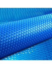 Aquabuddy 7.5 x 3.8M Solar Swimming Pool Cover 400 Micron Outdoor Blanket