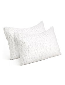 Giselle Bedding Twin Pack Memory Foam Pillows