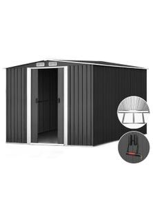 Giantz Garden Shed 2.6x3.1x2M Storage Shed Metal Base