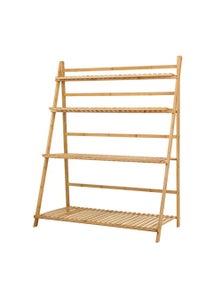 Artiss 4-Tier Bamboo Plant Stand Shelf
