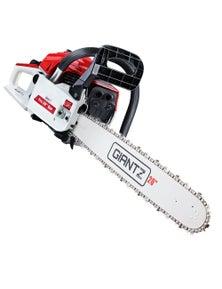 Giantz 52CC 20'' Chainsaw-Red&White