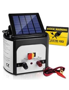Giantz 8Km Solar Electric Fence Energiser Unit For Goats Cattle Horses