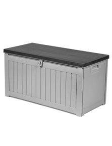 Gardeon Outdoor Storage Box Lockable Bench 190L