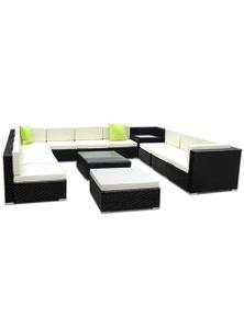 Gardeon 13-Piece Outdoor Wicker Furniture Set