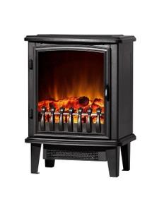 Devanti Electric Fireplace Wood Heater Portable