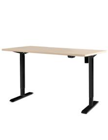 Artiss Standing Desk Sit Stand Table Riser Motorised Electric Height Adjustable - Black Frame W/ 140Cm Desktop Roskos I