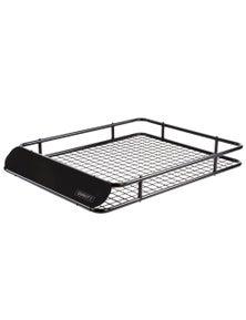 Giantz Universal Roof Rack Basket Car Luggage Carrier Steel Vehicle 123cm