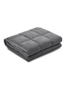 Giselle Bedding Weighted Blanket Adult 7KG - Grey