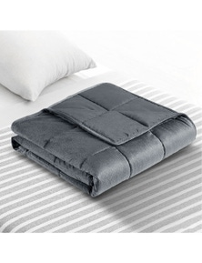 Giselle Bedding Plush Weighted Blanket 9KG