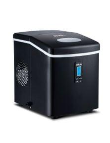 Devanti 3.2L Ice Maker Portable Stainless Steel Ice Cube Machine - Black
