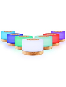 Devanti 500ml Ultrasonic Aroma Diffuser - Light Wood