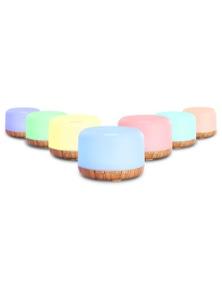 Devanti 500ml Ultrasonic Aroma Diffuser - White/Light Wood