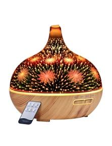 Devanti 400ml Aroma Diffuser Aromatherapy Essential Oil 3D LED Light