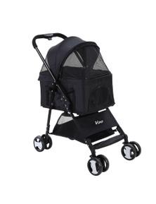 i.Pet Pet Stroller Foldable 3 IN 1 Black