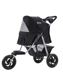 i.Pet Pet Stroller Foldable 3-Wheel Large