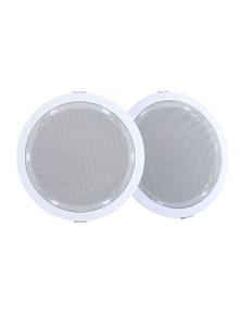 2 x 6-Inch Ceiling Speakers 80W