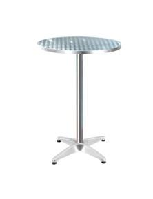 Gardeon Stainless Steel Round Bar Table