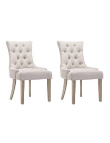 Artiss 2x Dining Chair CAYES French Provincial Chairs Wooden