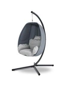 Gardeon Outdoor Swing Chair Egg Hammock Hanging Pod Canopy Seat Furniture