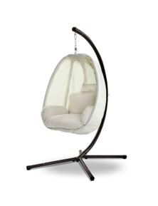 Gardeon Outdoor Swing Chair Egg Hammock Porch Hanging Pod Furniture