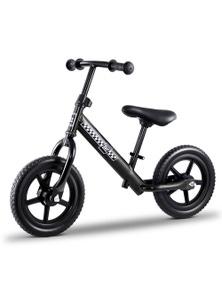 Rigo Kids Balance Bike - 12 Inch Black