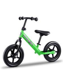 Rigo Kids Balance Bike - 12 Inch Green