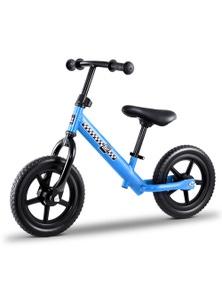 Kids Balance Bike - 12 Inch Blue