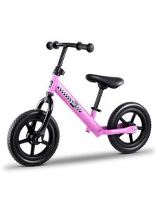 Kids Balance Bike - 12 Inch Pink