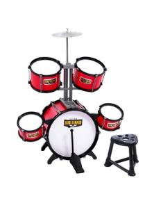 Keezi Kids 7-Piece Drum Set