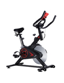 Spin Bike Workout with Phone Holder
