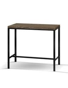 Artiss Vintage Industrial High Bar Table For Stool Kitchen Cafe Desk Brown