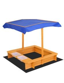 Keezi Kids Outdoor Canopy Sand Pit