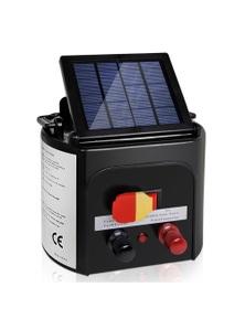 Giantz 3Km Solar Electric Fence Energiser Charger 0.1J Farm Pet Animal