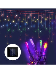 Jingle Jollys 20M Christmas Icicle Lights Outdoor String Solar Powered 500 LED