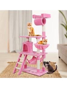 i.Pet Cat Tree Scratching Post 141cm Pink