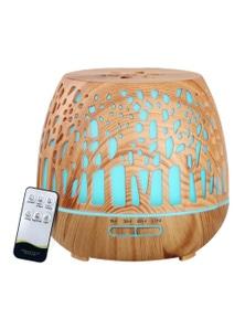 Devanti Ultrasonic Aroma Diffuser - Wood Grain 400ml