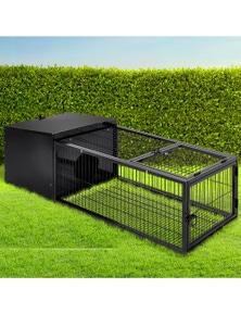 i.Pet Rabbit Hutch Enclosure 122CM