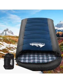 Weisshorn Single Sleeping Bag -20 degrees to 10 degrees - Blue