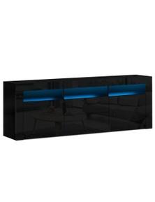 Artiss LED Entertainment Unit Stand 180cm Black