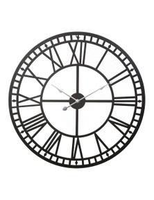 Wall Clock Large Modern Vintage Retro Metal Clocks 60Cm Home Office Decor