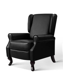 Artiss Luxury Recliner Chair - Black