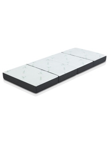 Giselle Bedding Portable Mattress Foldable Foam Floor Bed Tri Fold 180cm
