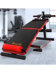 Everfit Decline Sit Up Home Gym Bench
