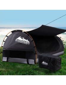 Weisshorn King Single Camping with 7cm Mattress - Dark Grey