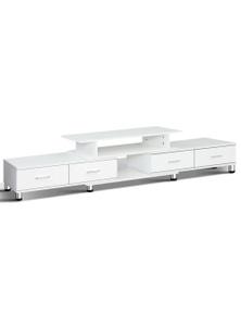 Artiss TV Cabinet Entertainment Unit Stand Wooden 160CM To 220CM