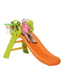Devanti Keezi Kids Slide Basketball Hoop - Orange