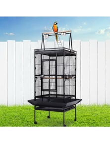 i.Pet Bird Cage Pet Cages Aviary 173CM Large Travel Stand