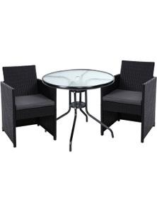 Gardeon Patio Furniture Dining Chairs Table Patio Setting