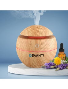 Devanti Aromatherapy Diffuser 130ml - Light Wood